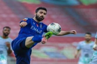 عمر خربين في مباراة الأهلي ضد الهلال