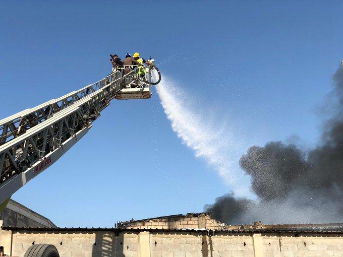 تفاصيل إخماد حريق نشب في مستودعات تحوي ألعاب أطفال بالشرقية