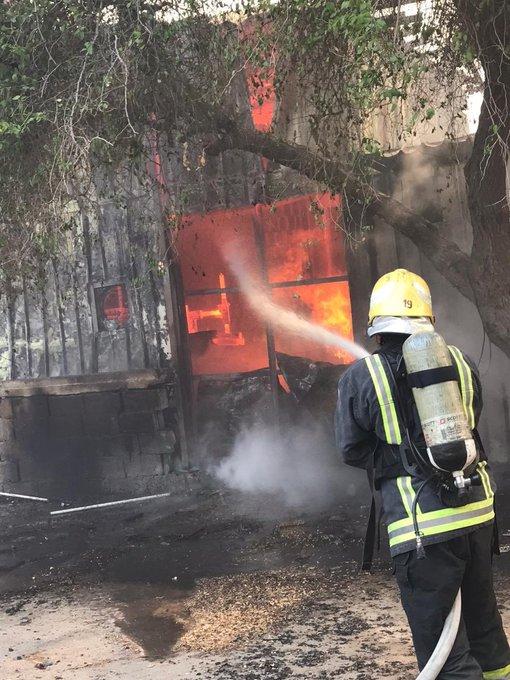 تفاصيل إخماد حريق نشب في مستودعات تحوي ألعاب أطفال بالشرقية - المواطن