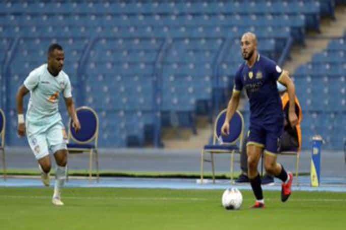النصر يهزم الفيحاء باللحظات الأخيرة في الدوري