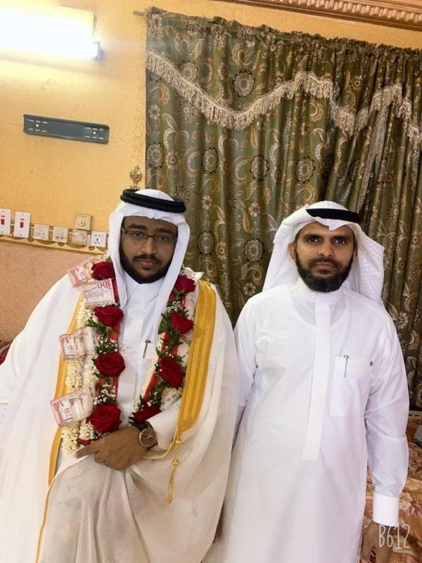 آل مباركي يحتفلون بزواج ابنهم أحمد