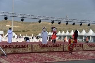 شاهد.. موروثات ثقافية وفنون شعبية في مهرجان بللحمر الشبابي - المواطن