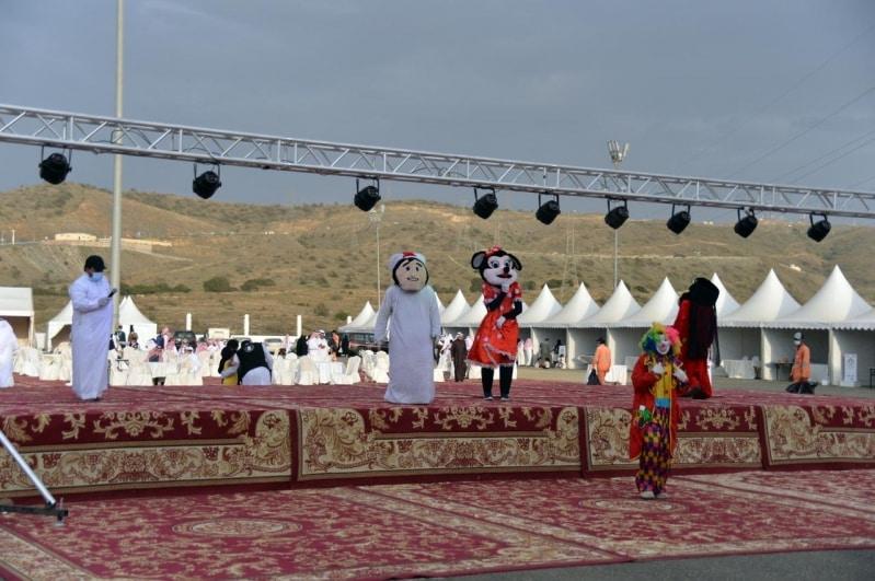 شاهد.. موروثات ثقافية وفنون شعبية في مهرجان بللحمر الشبابي