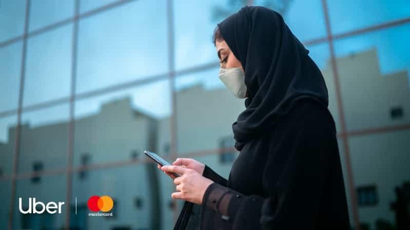 أوبر تقدم رحلات مجانية في السعودية كجزء من شراكة مع ماستر كارد