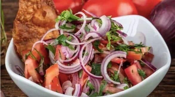 البصل والطماطم