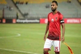 حسام عاشور لاعب الأهلي المصري السابق