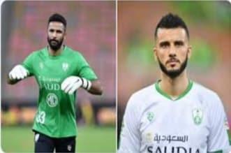 محمد العويس وعمر السومة لاعبي الأهلي