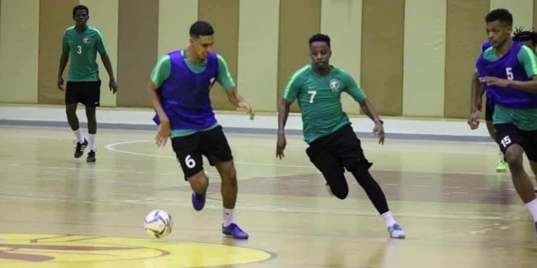 16 لاعبًا في قائمة أخضر الصالات بـ كأس العرب