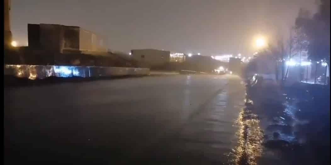 فيديو.. أمطار الخير على مشعر عرفات