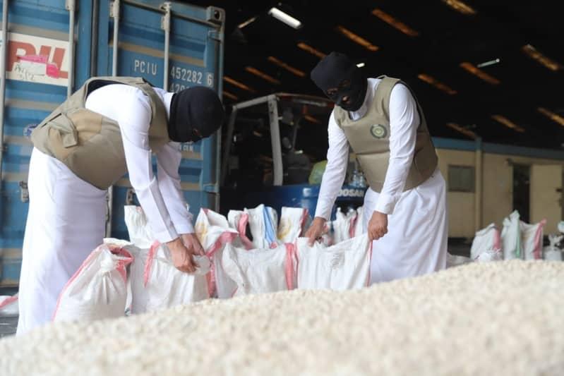 ضربة استباقية ناجحة.. ضبط 16 مليون قرص إمفيتامين داخل شحنة حمص - المواطن