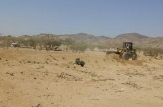 إزالة تعديات على أراضٍ تزيد مساحتها على 72 مليون م2 في مزاحمية الرياض - المواطن