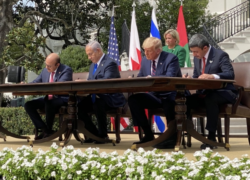 اتفاق السلام يغير مسار الشرق الأوسط والمنطقة