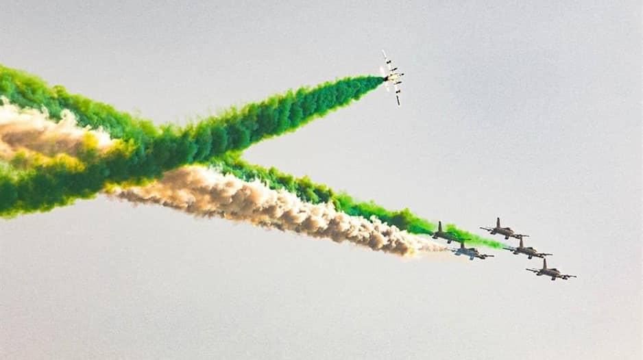 فيديو وصور.. استعراض فرسان الإمارات بمناسبة اليوم الوطني السعودي