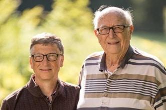 بعد وفاته.. 10 معلومات عن والد مؤسس مايكروسوفت بيل جيتس (5)