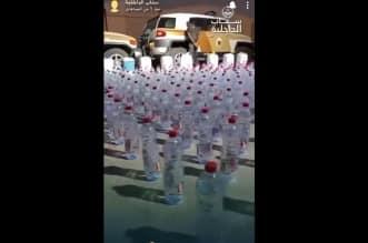 فيديو سناب الداخلية لضبط 1056 قارورة مسكرات بحوزة إثيوبي في الرياض - المواطن