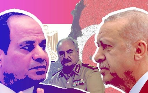 محاولات فاشلة من تركيا بعد استسلامها لدور مصر في ليبيا