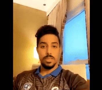 فيديو .. سالم الدوسري يُعلن تعافيه من كورونا