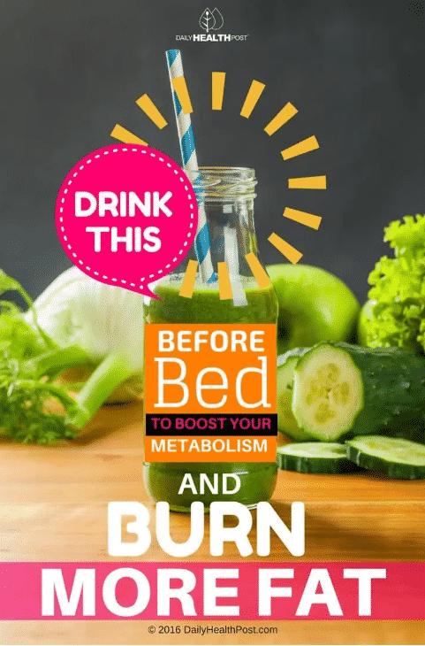 تناول هذا المشروب قبل النوم لتعزيز التمثيل الغذائي وحرق الدهون - المواطن
