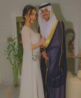 زواج المطرب عايض يوسف من الممثلة هبة الحسين