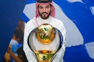فهد بن نافل رئيس نادي الهلال