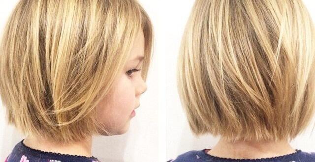 قصات شعر قصير للاطفال
