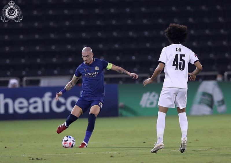 مايكون في مباراة السد ضد النصر