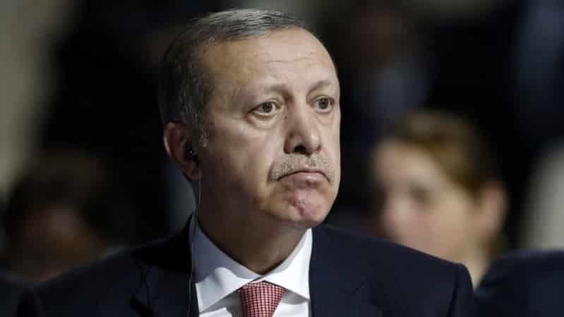 أردوغان البلطجي فقد صوابه !