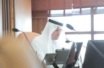 رئيس جامعة حفرالباطنيبحث سير العملية التعليمية الإلكترونية - المواطن