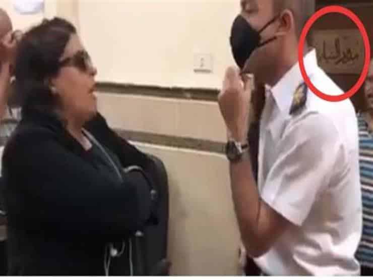 محكمة مصرية تخلي سبيل امرأة اعتدت على ضابط شرطة والأمم المتحدة تعلق