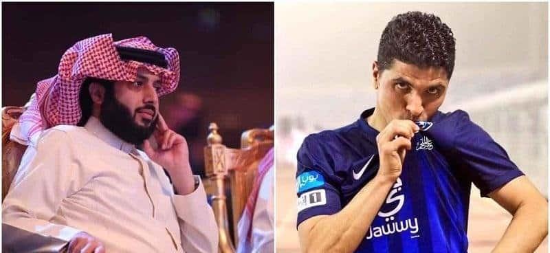 وعد تركي آل الشيخ لـ طارق التايب في حفل اعتزاله