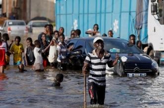 الأمطار في السنغال