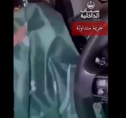 فيديو.. القبض على مواطن تعمد إسقاط العلم الوطني من مركبةٍ بوادي الدواسر