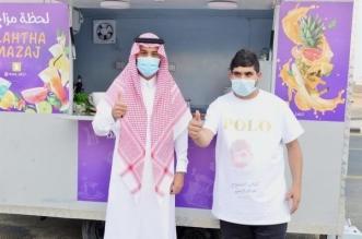 نائب أمير حائل يستجيب لدعوة شاب لحضور افتتاح الفود - المواطن