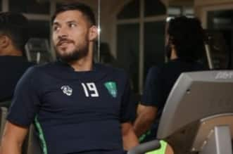 يوسف بلايلي لاعب أهلي جدة