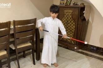 الطالب الكفيف محمد السهلي