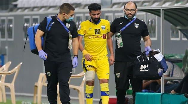 صدمة لـ التعاون في مباراة بيرسبوليس الإيراني