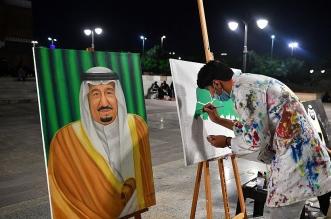 فعاليات فنية وإبداعية منوعة بحديقة الملك فهد بالمدينة في يوم الوطن - المواطن