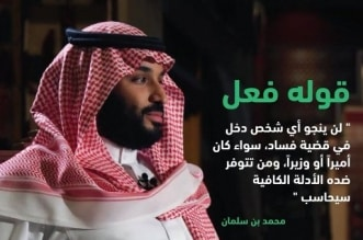 الدوسري: محمد بن سلمان وعد فأوفى.. الضرب بيد من حديد على الفساد - المواطن