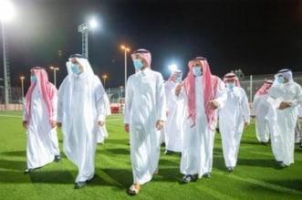 وزير الرياضة يدشن منشآة نادي عكاظ