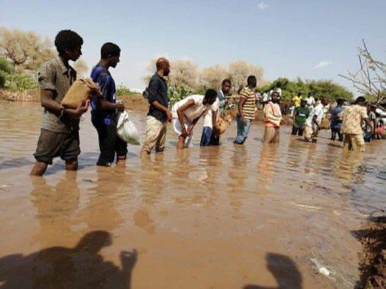 فيديو وصور مؤلمة من فيضانات السودان وفرض الطوارئ 3 أشهر
