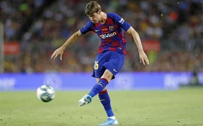 خوان ميراندا لاعب برشلونة