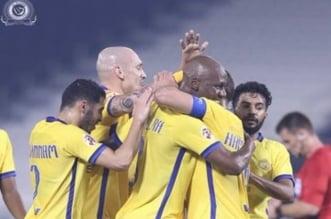 مادو في مباراة النصر وسباهان أصفهان
