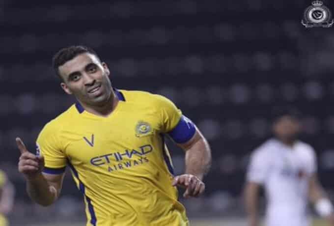 حمدالله الأفضل بـ مباراة النصر ضد سباهان أصفهان