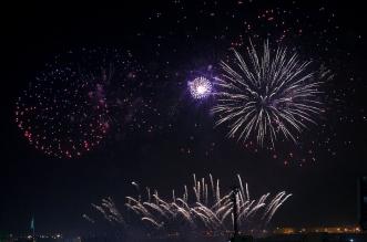 شاهد.. الألعاب النارية تُضيء سماء الرياض ابتهاجًا باليوم الوطني - المواطن