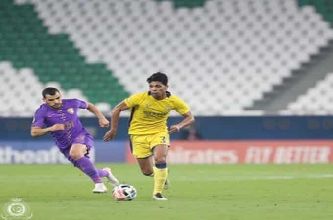 النصر يُنهي دور المجموعات بالخسارة ضد العين الإماراتي