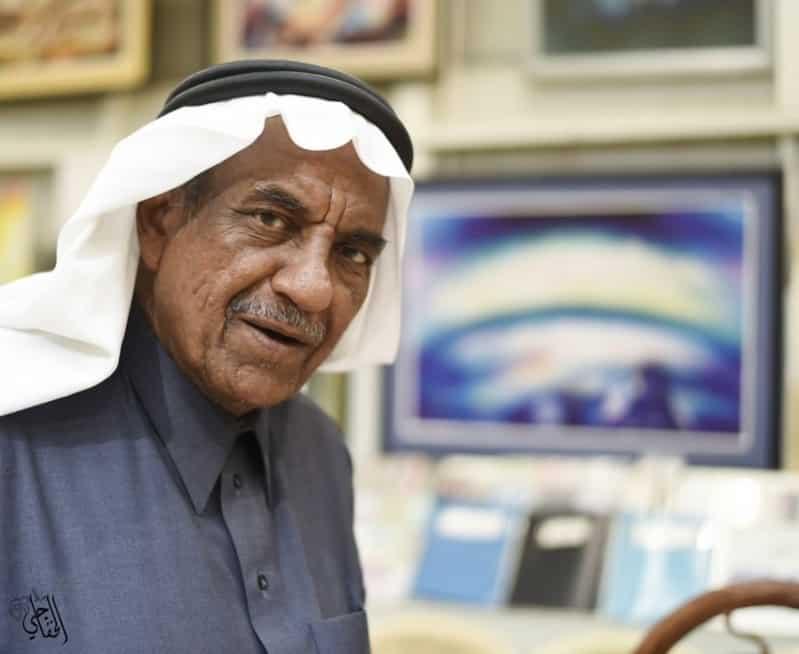 الفنان التشكيلي السعودي سعد العبيد في ذمة الله