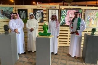 الفنون التشكيلية تحتفل باليوم الوطني في خميس مشيط - المواطن