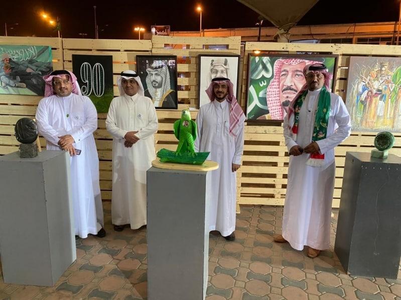 الفنون التشكيلية تحتفل باليوم الوطني في خميس مشيط