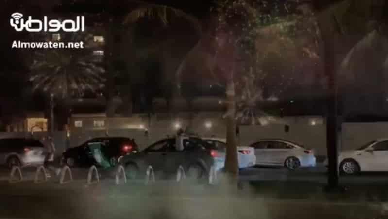 فيديو.. الألعاب النارية تضيء سماء جدة ابتهاجًا باليوم الوطني