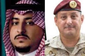الأمير فهد بن تركي والأمير عبدالعزيز بن فهد بن تركي